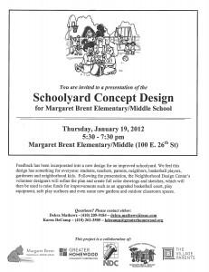 Marg. Brent Schoolyard Concept presentation 1.19.12