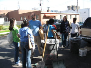 Residents and volunteers help clean up Remington